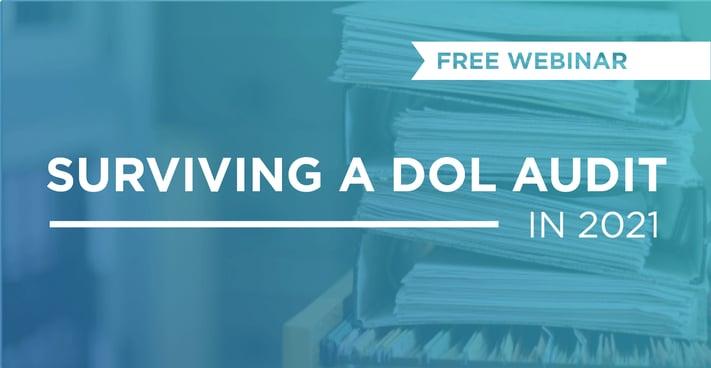 surviving a DOL audit